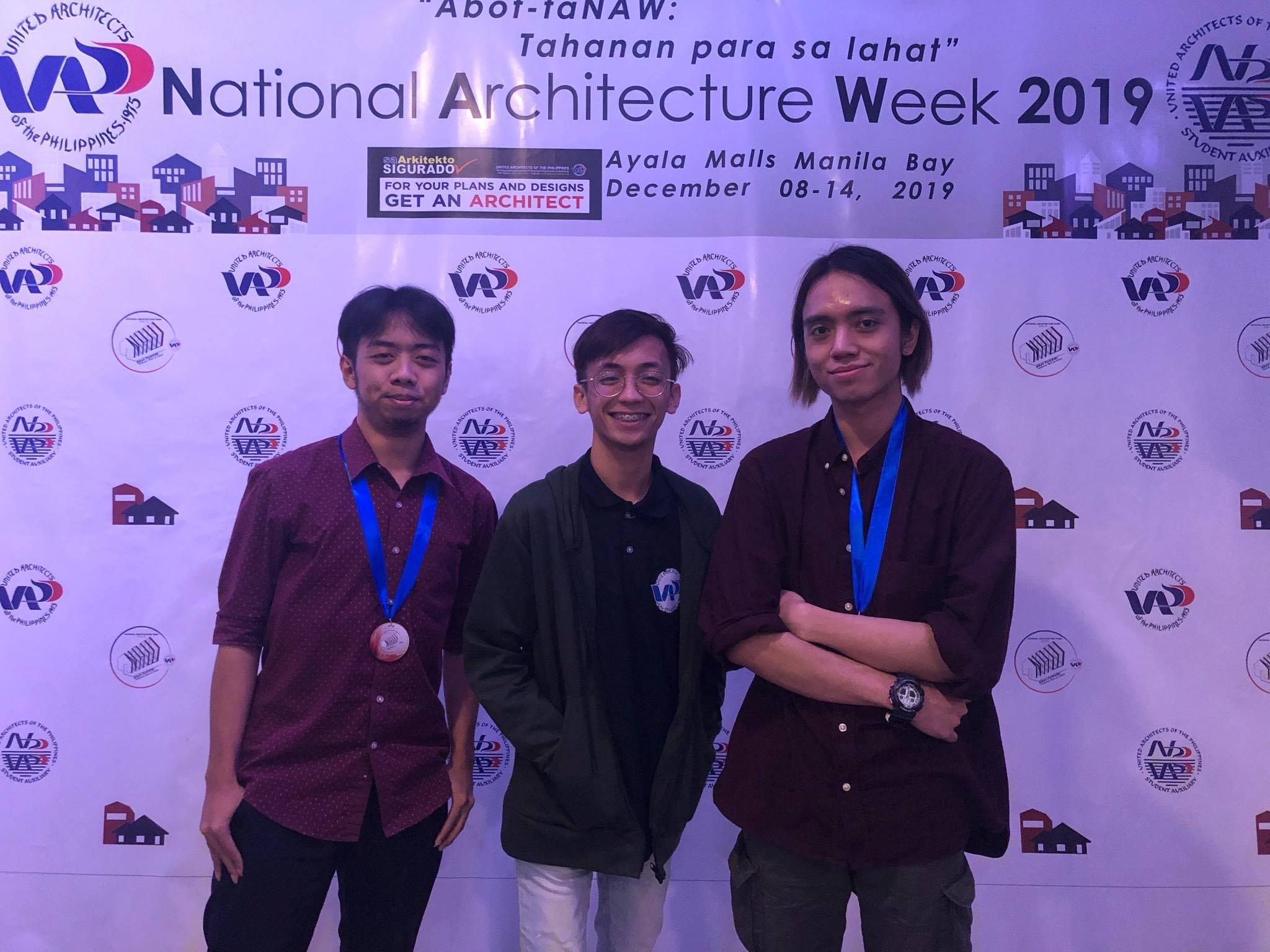 LPU Cavite Bags Gold in the Quiz Bee Competition During National Architecture Week