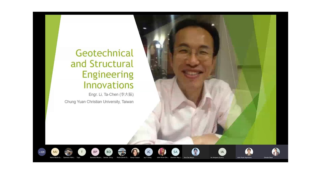 COECSA Conducts 1st International Lecture Series in Geotechnical and Structural Engineering