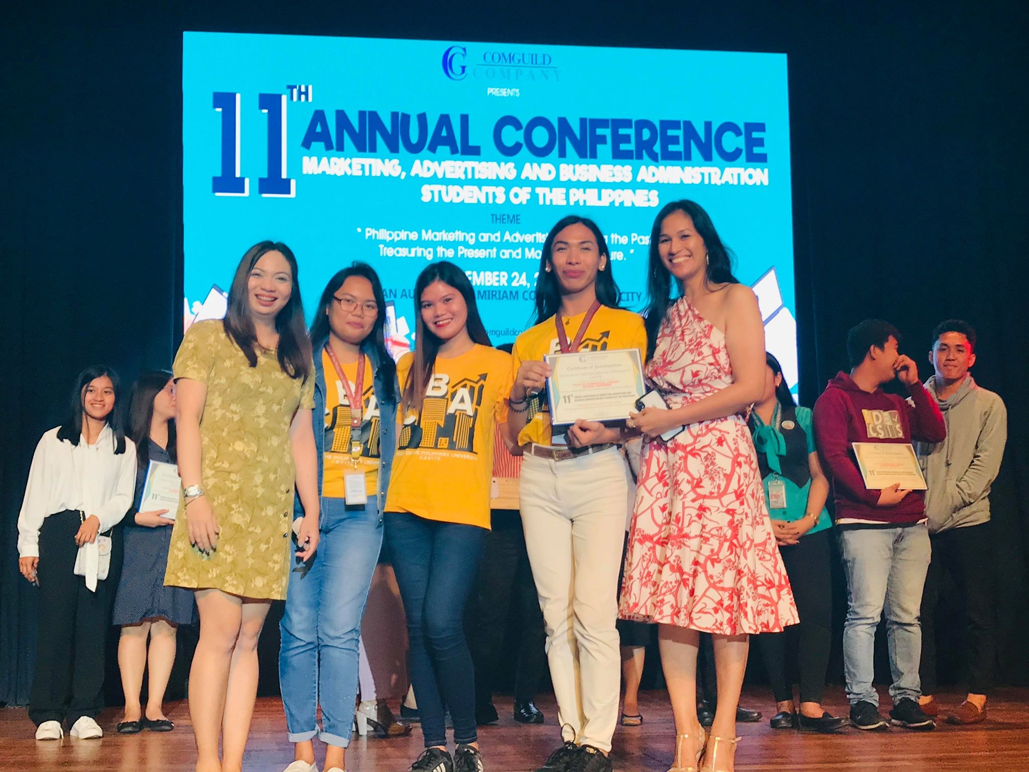 Marketing Management Students Win in the 2019's COMGUILD TV Commercial Contest