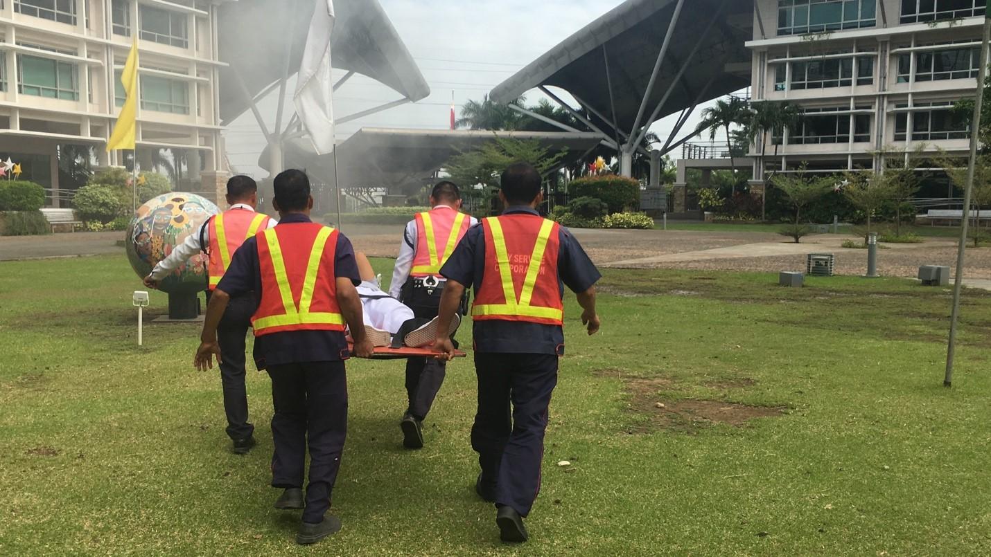Fire & Earthquake Drill