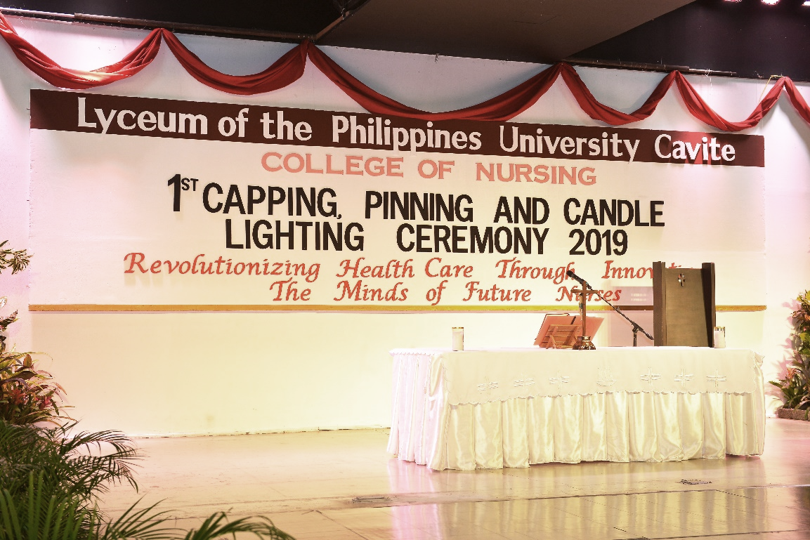 First Annual Capping, Pinning and Candle Lighting Ceremony 2019