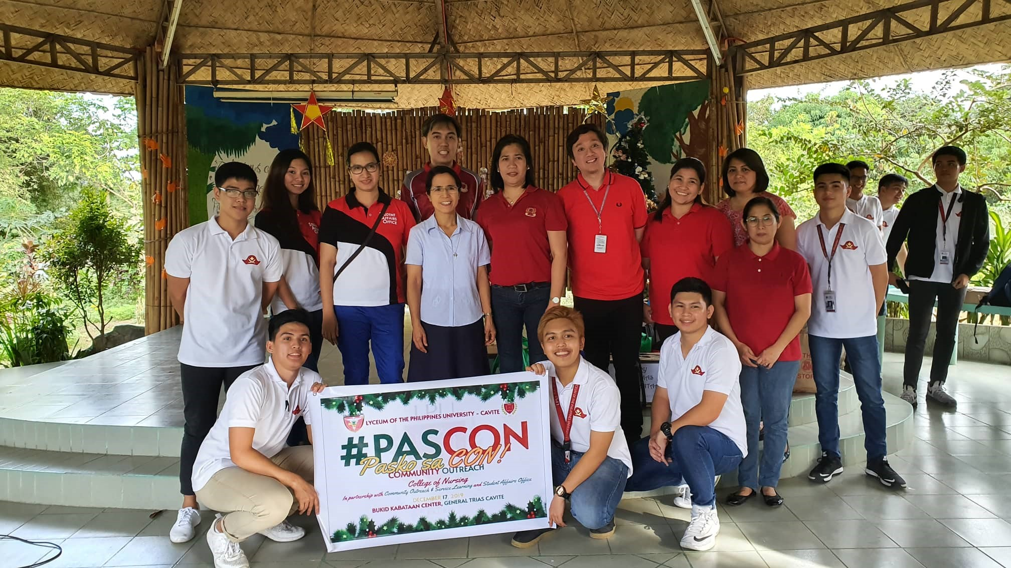 College of Nursing Goes to Bukid Kabataan Center