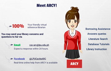 First Steps to Experience Library At Home: The ARC Virtual Library Orientation for A.Y. 2021-2022 1st Semester