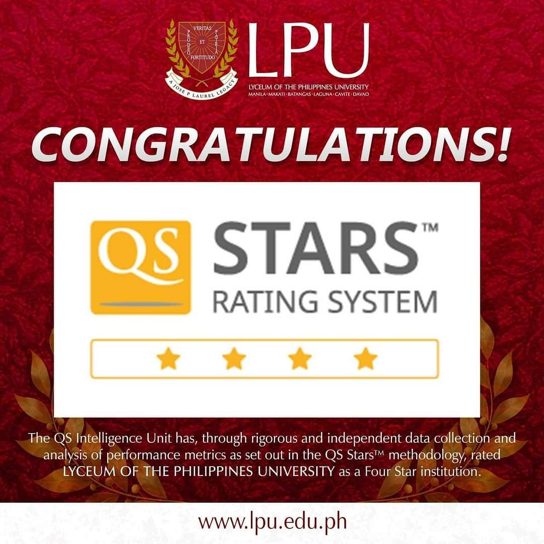 LPU Shines in Outstanding 4-Star QS Stars Rating